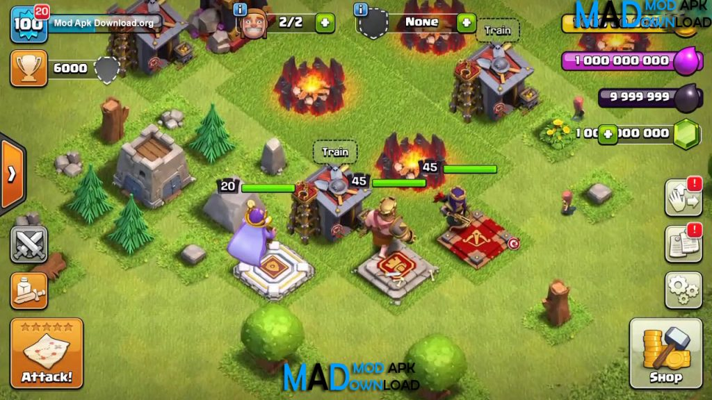 download coc mod apk android