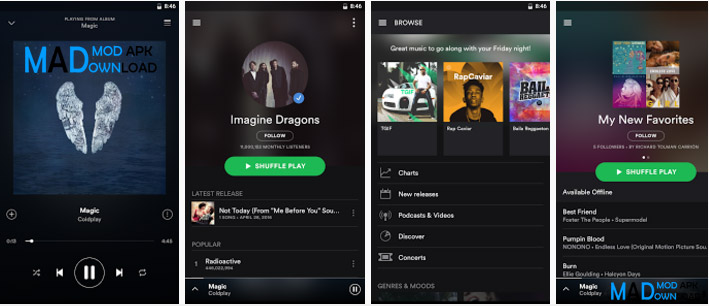 Spotify Premium Apk Download Offline [MOD] v8 4 27 845 (100% Working)