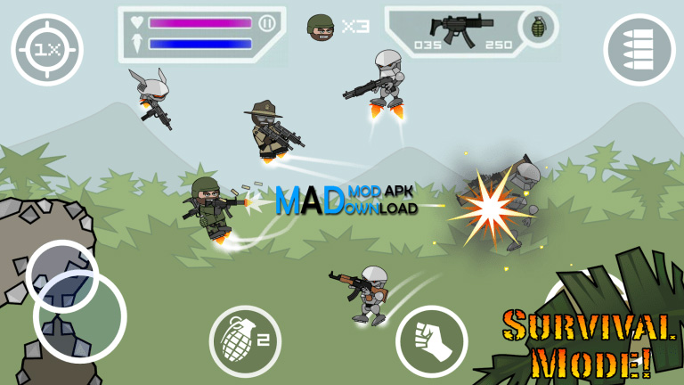 Mini Militia Mod Apk Unlimited Ammo & Nitro (Pro Pack)
