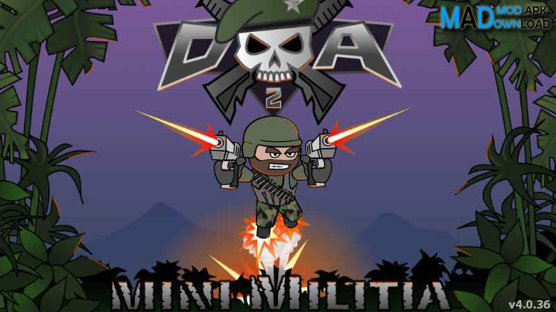 Mini Militia Mod Apk Unlimited Ammo and Nitro