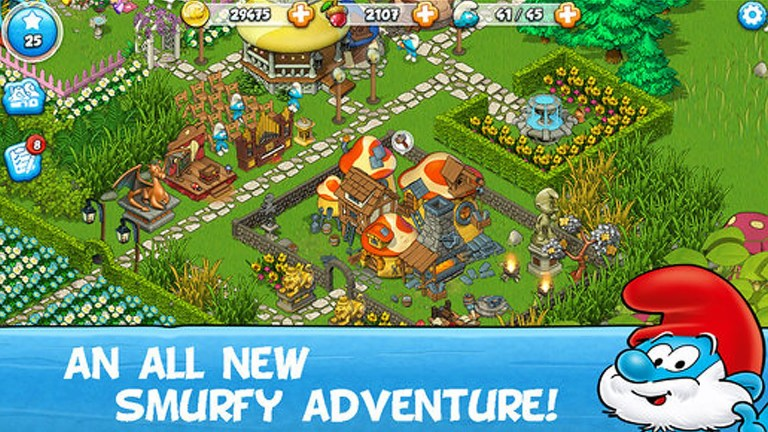 smurf village mod apk unlimited money