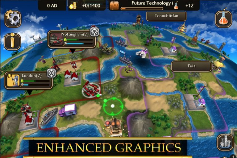 Top Strategy Games of 2019 with In-app Purchase in Google Playstore