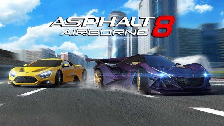 Download the Latest Asphalt 8 Mod APK in 2020