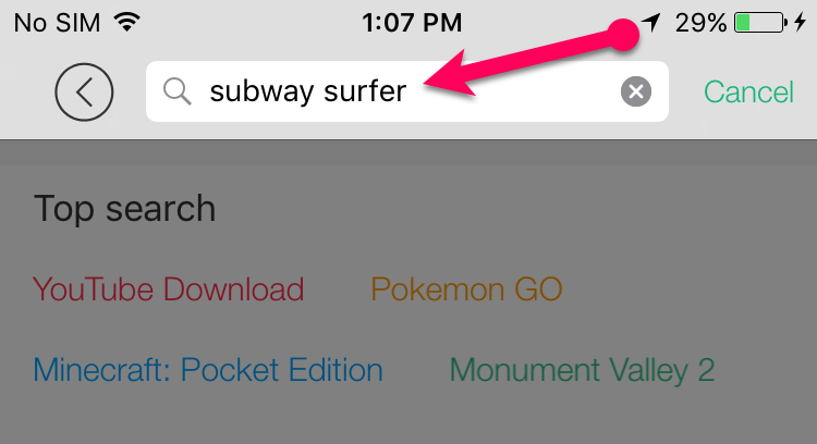 subway surfer search