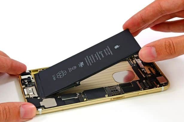 replacing iPhone 7 battery