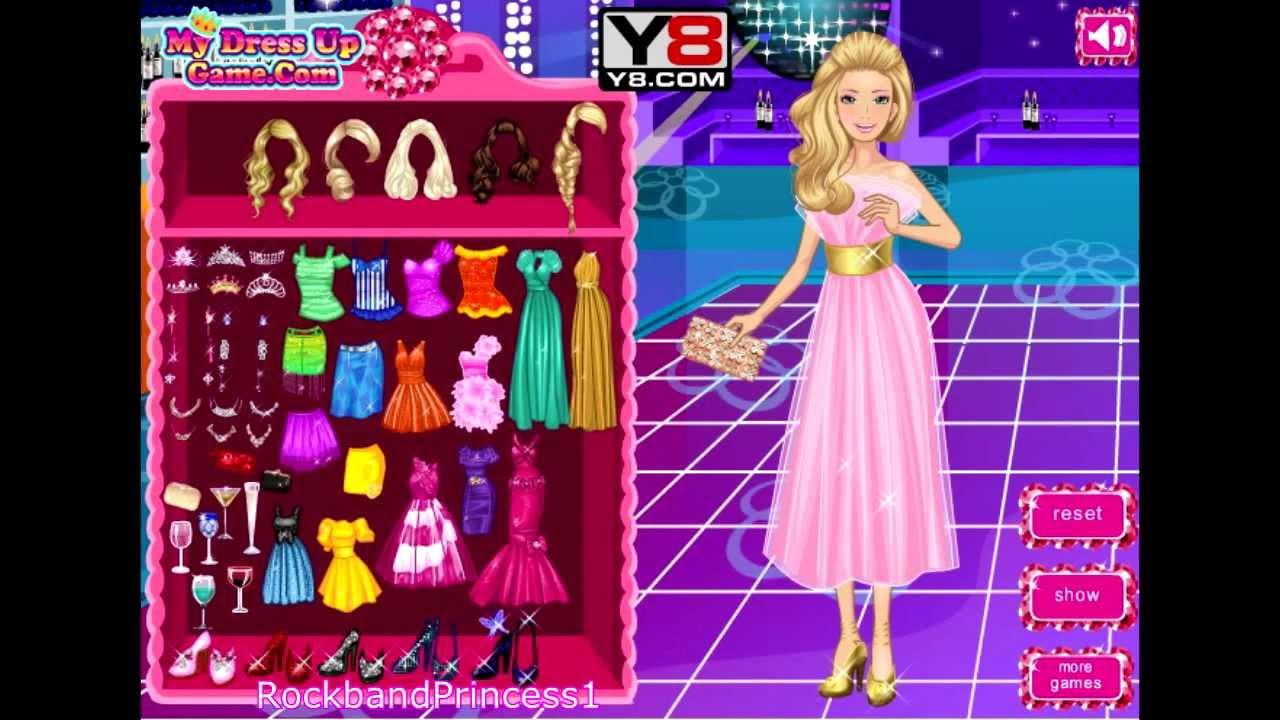 barbie dress up games online